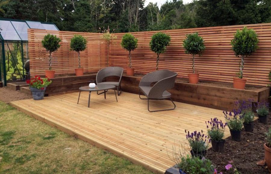 Garden-Decking