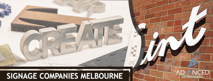 signage companies melbourne